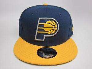 f5606b98b08 Men s New Era NBA Indiana Pacers 9FIFTY 2-Tone Snapback Cap (Dark ...