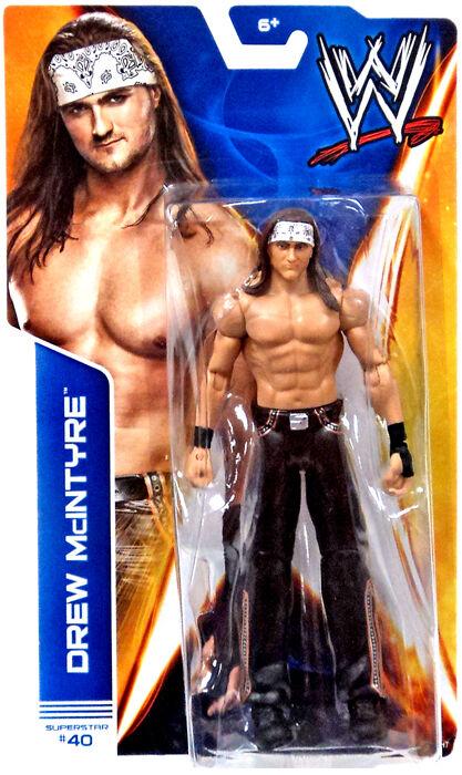 WWE DREW MCINTYRE FIGURE WRESTLING SERIES 41 NXT TAKEOVER RAW