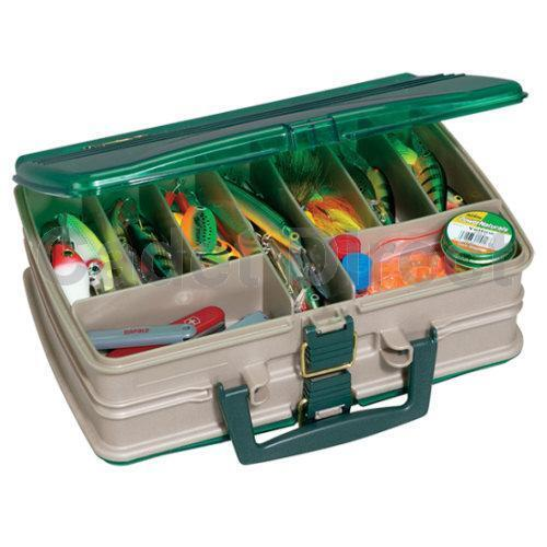 Plano Double Sided Storage Satchel 20 Compartment