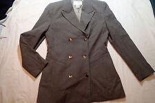 OSCAR DE LA RENTA  WOOL BLEND  ,stripes BLAZER jacket, Sz 6, PO