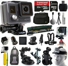 NEW GoPro HERO Action Camera + 32GB Ultimate Accessories Bundle Kit Set Package