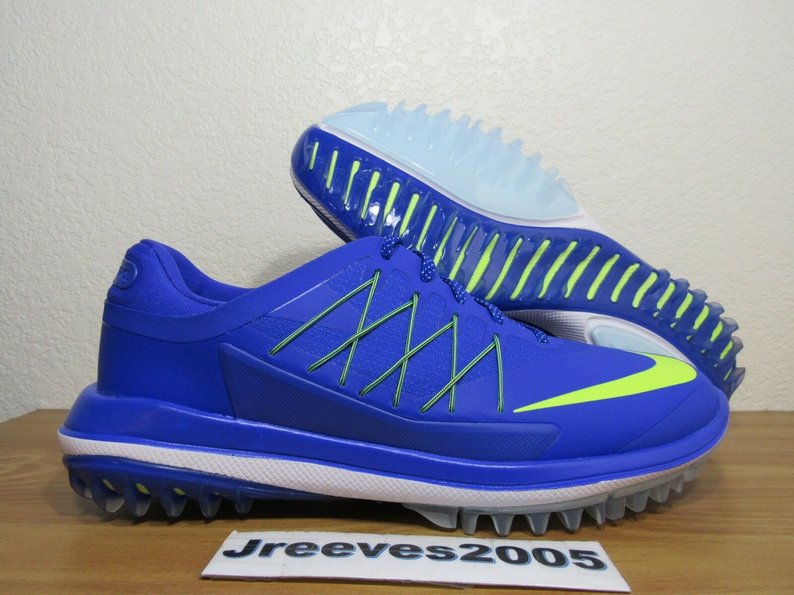 Women's Nike Lunar Control Vapor 100% Golf Shoes Sz 9 100% Vapor Authentic 849979 400 f00e5d