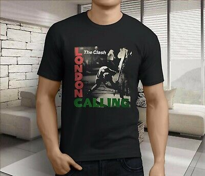 Official T Shirt THE CLASH Black LONDON CALLING Band Tee All Sizes