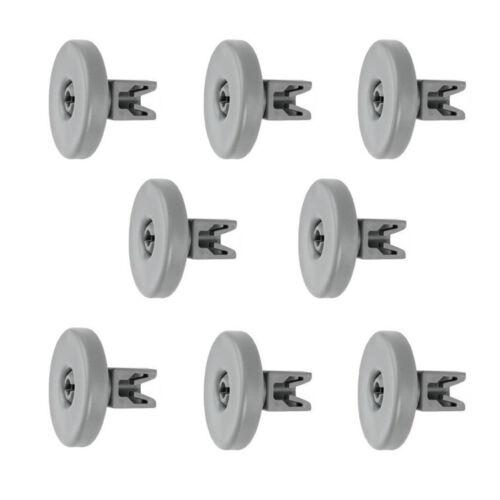 8 Korbrollen Räder Spülmaschine für Aeg Electrolux F55062VI0 F55060VI0 F34030VI0