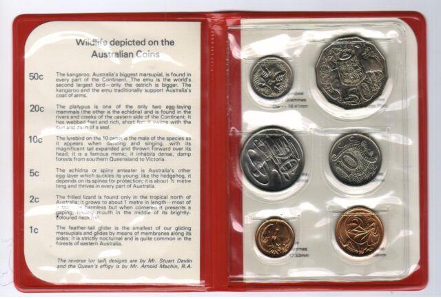 1981 RAM Uncirculated (UNC) 6 Coin Mint Set