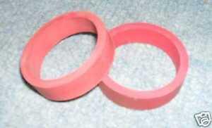 2 caoutchoucs elastiques rouges standard pr batteurs flipper Bally Williams
