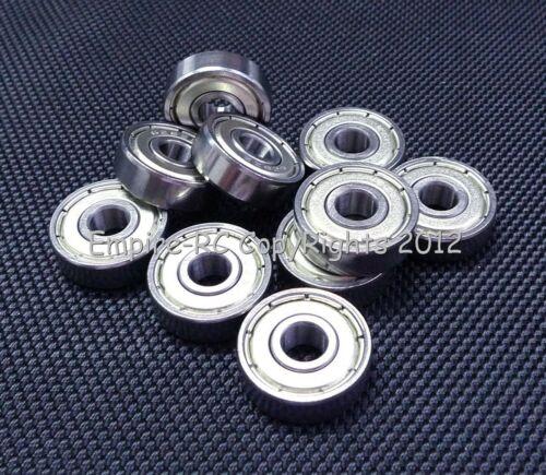 Metal Shielded PRECISION Ball Bearing Bearings 626z 4 PCS 626ZZ 6x19x6 mm