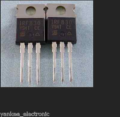 10PCS IRF840 B POWER MOSFET N-channel 4.5A 500V