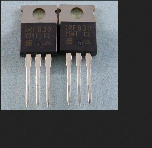 10PCS IRF830 B POWER MOSFET N-channel 4.5A 500V