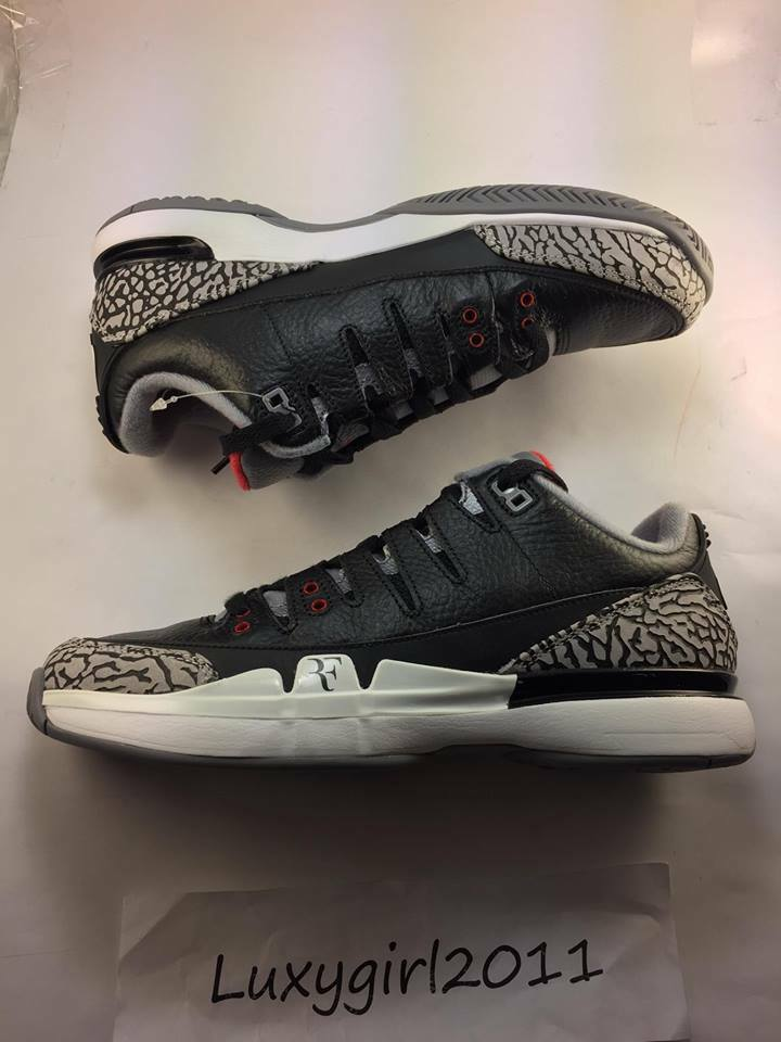 2014 Nike Zoom Vapor AJ3 Size Black Youth 709998 010 Size AJ3 6.5 51511d