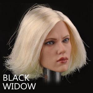 1-6-Black-Widow-Scarlett-Johansson-Head-Sculpt-Model-F-12-034-Female-Figure-Body