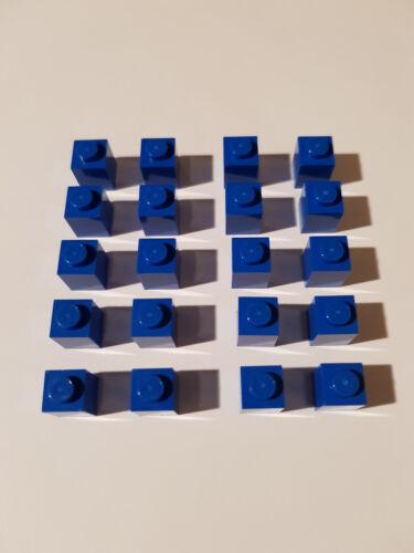 #AC04 LEGO® 20 x 3005 Basic Stein 1 x 1 blau 300523 Blue City