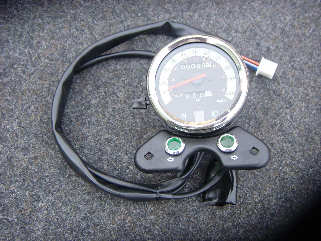 en promociones de estadios Velocímetro Tachometer Tachometer Tachometer orginal nuevo luxxon Sixty Six 1161000011000  deportes calientes