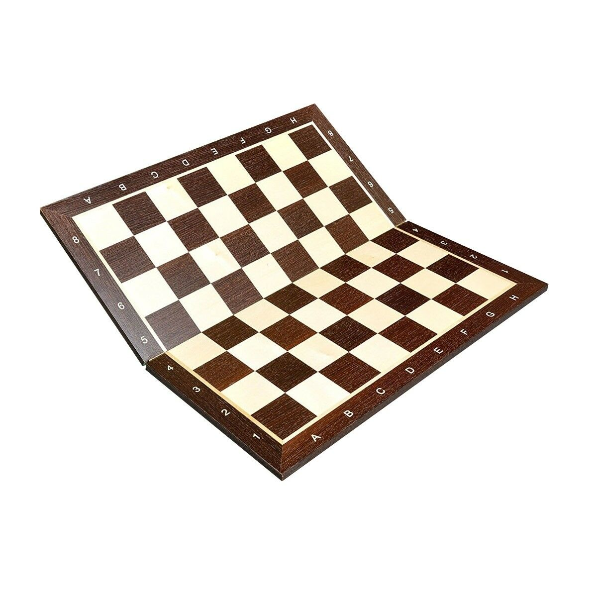 African Paliseer & Maple  Folding Wooden Chess tavola - 2.25  With Notation  marchi di stilisti economici