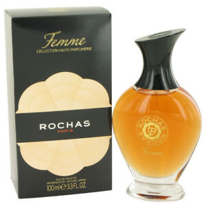 FEMME-ROCHAS-by-Rochas-3-4-oz-100-ml-EDT-Spray-Perfume-for-Women-New-in-Box