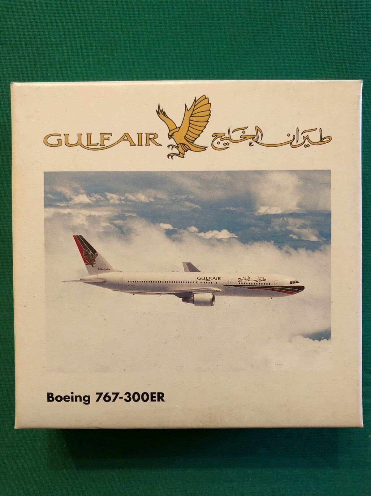 Boeing 767-300ER Gulf Air. Herpa Wings 1 1 1 500 - Limited Edition to 3000 models 34a33a