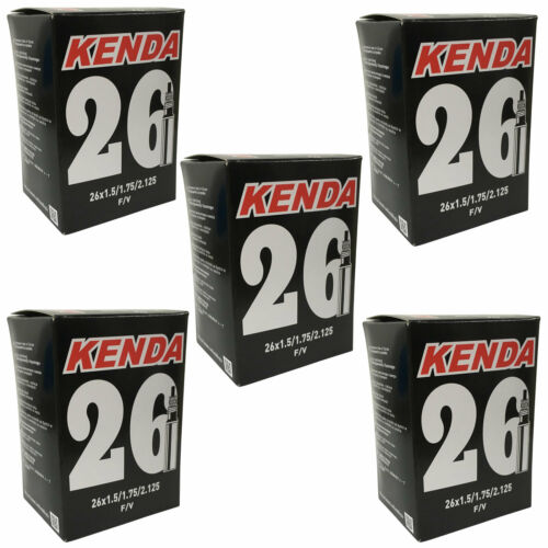 Details about  /5 X Kenda Mountain Bike Inner Tubes 26 X 1.5//1.75//2.125 Presta