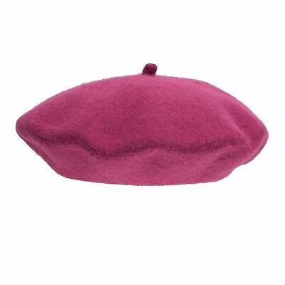 100/% wool beret hat vintage beret French beret flower beret winter hat spring beret Daisy beret hat chestnuts beret gift for girl
