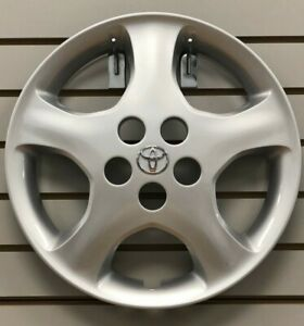2005-2008-Toyota-COROLLA-CE-15-034-5-spoke-Hubcap-Wheelcover-OEM-42621-AB100