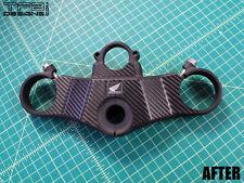 Carbon Fiber Triple Clamp Decal 2000 - 2001 Honda CBR929RR CBR 929RR - 3M Vinyl