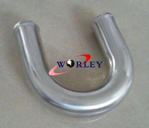 "1.5/"" 38MM 180 Degree Aluminum Turbo Intercooler Hose Pipe Tube Tubing L=600MM"