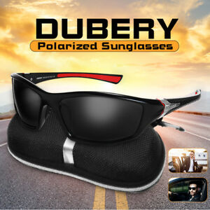 b4ef1d388ec Image is loading DUBERY-Men-Women-Polarized-UV-Sunglasses-Sport-Driving-