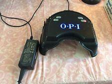 USED OPI Led Light PRO Lamp UV Dryer Gel Nail Lite Gelcolor Black Curing GC900