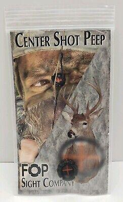 Hamskea Archery Solutions PEEP004 Raptor 1//8 Archery Bow Sight Peep