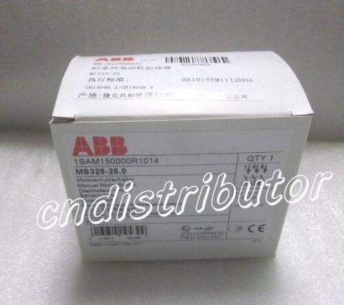 New In Box ABB Motor Starter MS325-25 1-Year Warranty !