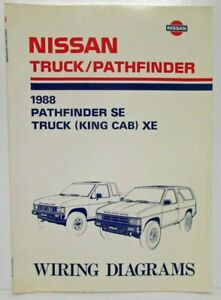 Details about 1988 Nissan Pathfinder SE & Truck (King Cab) XE Electrical on