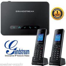 Grandstream DP750 + 2 DP720 Bundle DECT VoIP Base Station + Handsets HD 10 Line