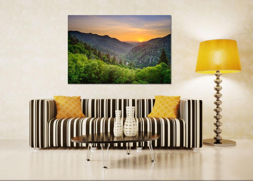 3D Sonnen  Berg Dschungel 756 Fototapeten Wandbild BildTapete AJSTORE DE Lemon