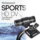 Full HD 1080P DV Waterproof Sport Camera Bike Helmet Action DVR Car Video Cam WT