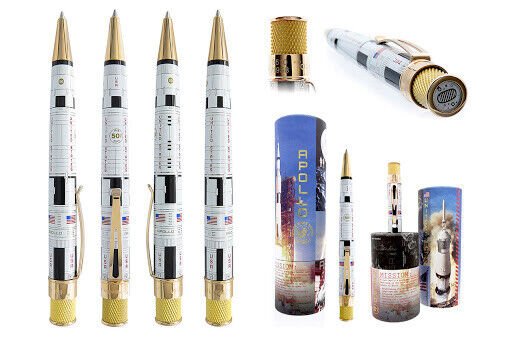 Retro 51 Apollo Space Race Series Rollerball Pen - FACTORY SEALED- and #'d