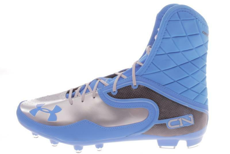 Uomo Large Size Under Armour Cam Highlight Blue Football Cleats 15 M..158B