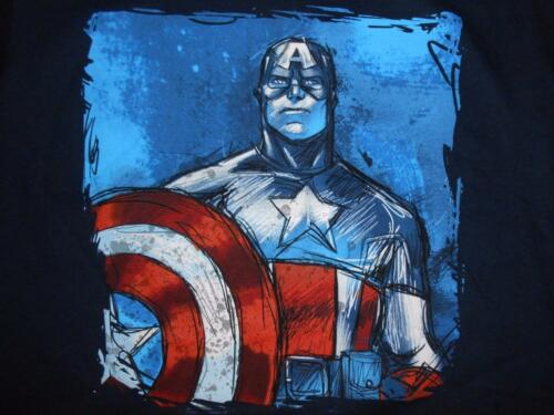 Shirt 4//5-6//7-18//20 New Glow in the Dark Captain America Youth Sizes XXS-XS-XL