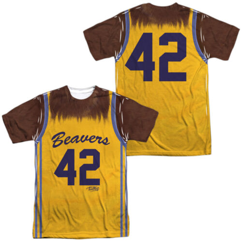 Teen Wolf JERSEY Costume 2-Sided Sublimated All Over Print Poly T-Shirt