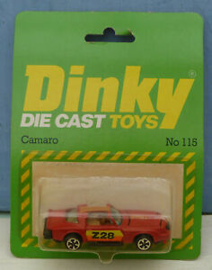 Dinky-Toys-Airfix-ownership-No-115-Chevrolet-039-Camaro-039-Car-Mint-Packaged