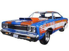 "1969 PLYMOUTH ROADRUNNER HARDTOP ""DON GROTHEER"" LTD 996PCS 1/18 AUTOWORLD AW220"