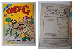 OKEY-G-speciale-2-Lire-1000-Settembre-1984-collana-Albo-Davy-Ediz-Bianconi
