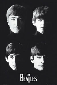 THE-BEATLES-JOHN-GEORGE-RINGO-PAUL-PORTRAITS-91-x-61-cm-36-034-x-24-034-POSTER