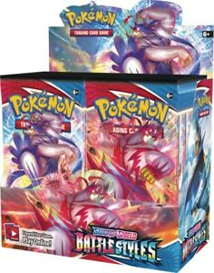 Pokemon Battle Styles Booster Box Display TCG Sword & Shield SWSH5
