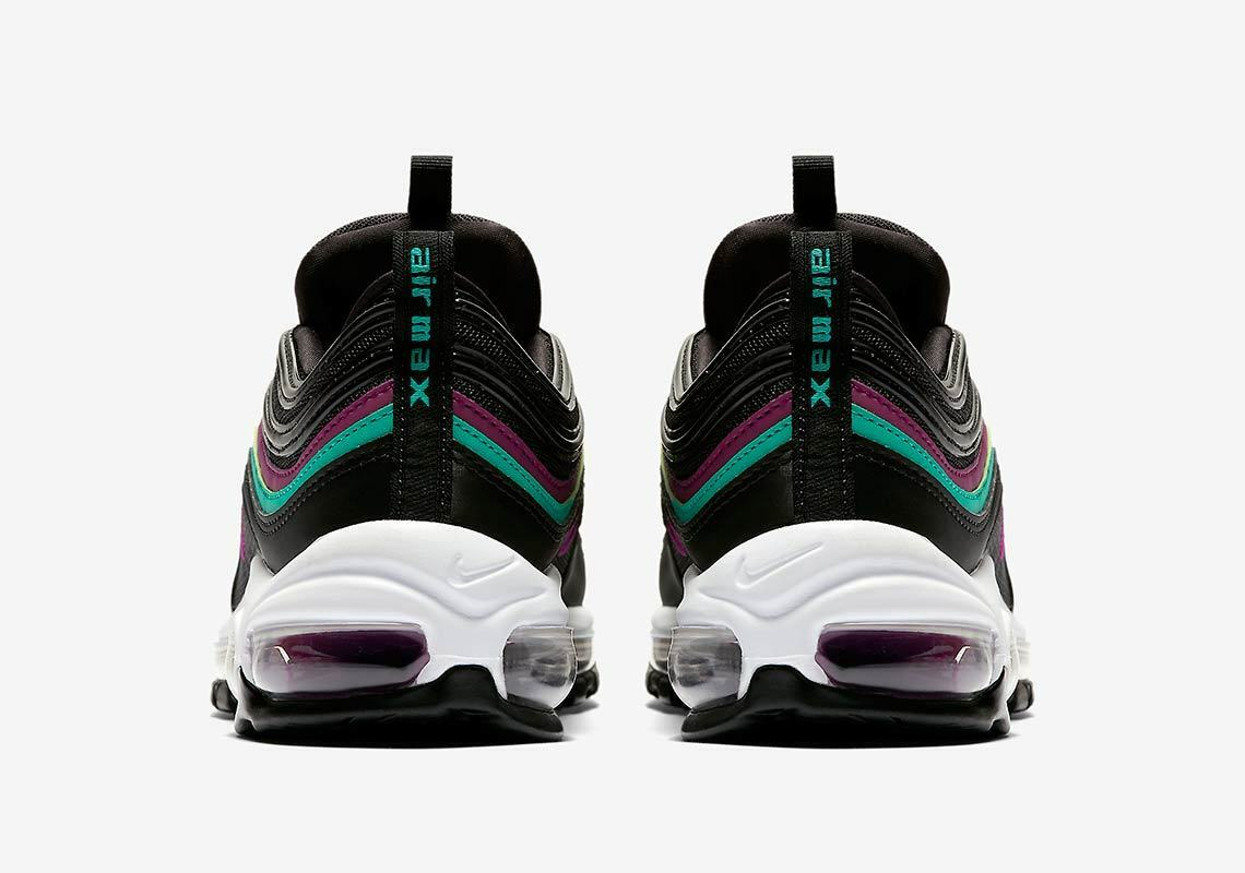 d67d303c7e Nike Air Max 97 Grape Womens 921733-008 Black Emerald Running Shoes Size 9  for sale online | eBay