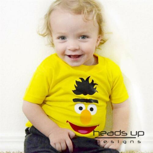 Bert Sesame Street Shirt Newborn Infant Baby Toddler Kid Boy Girl Adult