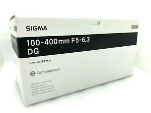 New SIGMA 100-400mm f/5-6.3 DG OS HSM Contemporary Lens for SIGMA Mount (SA)
