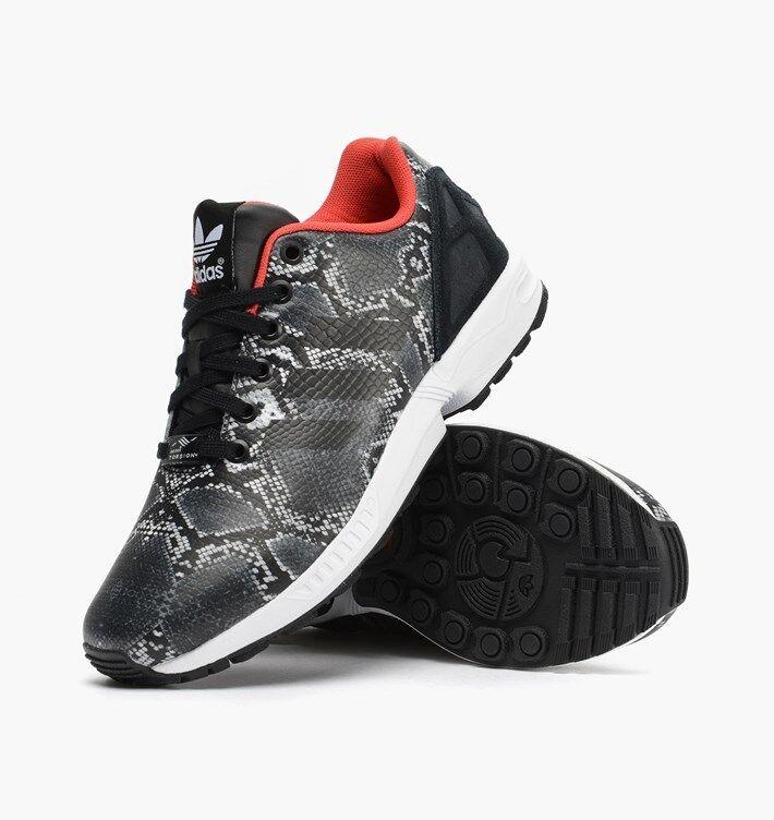 NIB  Adidas Women ZX Flux W B35310 Shoes Choose Size Bk/Rd