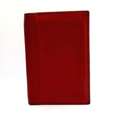 Primehide Bifold Portafoglio Di Pelle Id Holder Rosso-mostra Il Titolo Originale