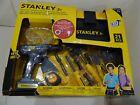 Stanley Jr. Mega Tool 21pcs Set Drill & Toolbox Toy New