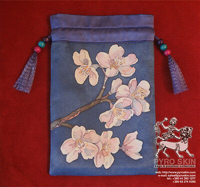 """Almond brahcn"" - silk Tarot bag"