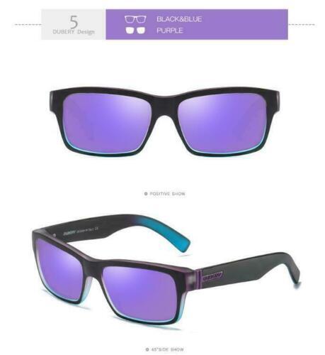 HOT DUBERY Men Polarized Sport Sunglasses Outdoor Riding Fishing Fashion Glasses